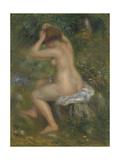 A Bather  Ca 1886-1890