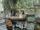 La Grenouillère, 1869 Giclée par Pierre-Auguste Renoir