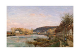 The Seine at Bougival  1870