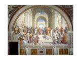 The School of Athens  1509-1511