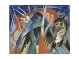 Fable Animals I (Composition with Animals)  1913