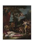 Bacchus and Ariadne  Um 1700