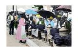 Rope Tobacco Sellers  Jamaica  C1900s