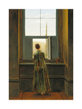 Woman at a Window  1822