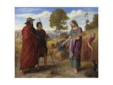 Ruth in Boaz's Field  1828