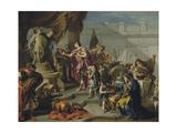 Scipio Paying Homage to Mars