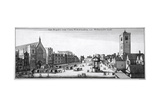View of New Palace Yard and Westminster Hall  London  1647
