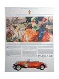 Packard Car Advert  1930