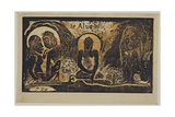 Te Atua (The God) from the Series Noa Noa  1893-1894