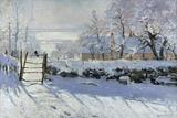 La pie, 1869 Giclée par Claude Monet