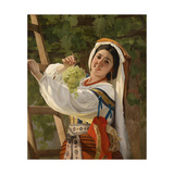 A Laughing Girl in South Italian Dress  1857