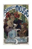Poster for the Bieres De La Meuse, 1897 Giclée par Alphonse Mucha