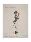 Farrington Ward Without Volunteer Holding a Rifle  1798