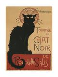 Tournee Du Chat Noir, 1896 Giclée par Théophile Alexandre Steinlen