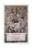 Slavia, 1907 Giclée par Alphonse Mucha