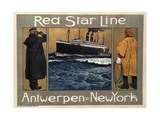 Red Star Line  1908