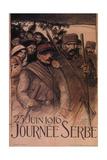 Serbia Day, 1916 Giclée par Théophile Alexandre Steinlen