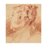 Study of Woman's Head  C 1725
