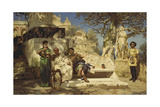 The Patrician's Siesta  1881