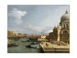 The Entrance to the Grand Canal and the Church Santa Maria Della Salute  Venice
