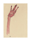 Raised Red Hand  1910