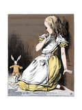Scene from Alice's Adventures in Wonderland by Lewis Carroll  1865