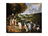 Allegory of the Treaty of the Pyrenees (Allegory of the Marriage of Louis XI)