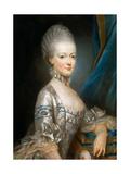 Portrait of Archduchess Maria Antonia of Austria (1755-179)