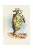 The Mock Turtle, 1930 Giclée par John Tenniel