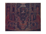Design of Masquerade Curtain for the Theatre Play the Masquerade by M Lermontov  1917