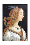 Idealized Portrait of a Lady (Portrait of Simonetta Vespucc)  C 1480