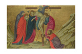 The Deposition (From the Basilica of Santa Croce  Florenc)  C 1324-1325
