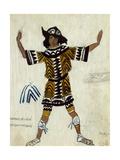 Costume Design for the Ballet Daphnis Et Chloé by M Ravel  1912