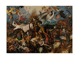 The Fall of the Rebel Angels, 1562 Giclée par Pieter Bruegel The Elder