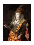 Portrait of Elizabeth I of England  in Ballet Costume as Iris