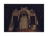 Stage Design for the Theatre Play the Masquerade by M Lermontov  1917