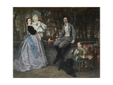 Portrait of the Marquis and Marchioness of Miramon and their Children  1865