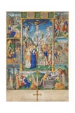 The Crucifixion with Six Scenes from the Passion of Christ