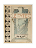 Cover Design for the Illustrated Edition Le Pater Giclée par Alphonse Mucha