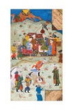 Miniature from Yusuf and Zalikha (Legend of Joseph and Potiphar's Wif) by Jami