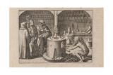 Illustration for Tripvs Avrevs  Hoc Est  Tres Tractatvs Chymici Selectissimi  1618