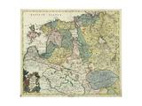 Map of Estonia and Livonia  1745
