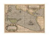 Maris Pacifici (From Theatrum Orbis Terraru)  1595