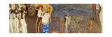 The Beethoven Frieze, Detail: the Hostile Forces, 1902 Giclée par Gustav Klimt