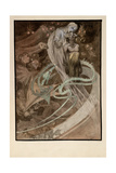 Illustration for the Illustrated Edition Le Pater Giclée par Alphonse Mucha
