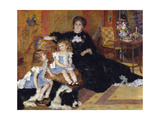 Madame Georges Charpentier and Her Children  Georgette-Berthe and Paul-Émile-Charles