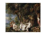 Nymphs and Satyrs  C 1615