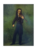Portrait of Niccolò Paganini (1782-184)  1830-1831
