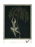 Tamara Karsavina in the Ballet the Firebird Giclée par George Barbier