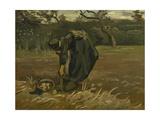 Peasant Woman  Harvesting Potatoes  1885